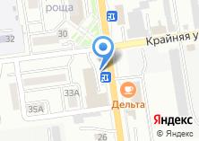 Компания «Авось» на карте