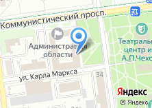 Компания «Городской кадастр Южно-Сахалинск» на карте