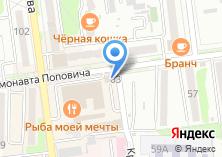 Компания «4 комнаты» на карте