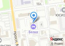 Компания «Аксинья» на карте