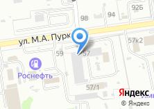 Компания «Отряд технической службы ФПС по Сахалинской области» на карте