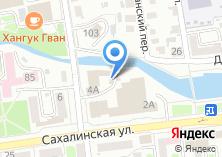 Компания «Управление Федеральной службы Российской Федерации по контролю за оборотом наркотиков по Сахалинской области» на карте