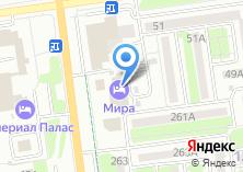 Компания «Мира Отель Сахалин» на карте