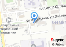 Компания «Контакт-Трейд» на карте