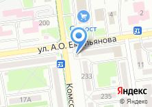 Компания «Омега» на карте