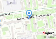 Компания «Магазин восточных салатов» на карте
