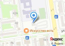 Компания «Строящееся административное здание по ул. Есенина» на карте