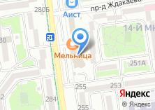 Компания «ДверьПол» на карте