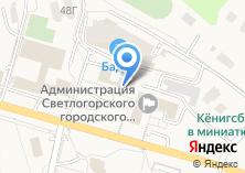 Компания «Балт-Тур-Сервис» на карте