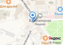Компания «Магазин одежды на Октябрьской» на карте