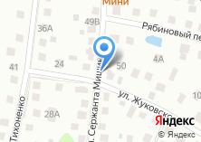 Компания «Строящийся жилой дом по ул. Жуковского» на карте