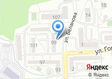 Компания «Магазин рыбной продукции на ул. Беланова» на карте