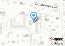 Компания «Строящееся административное здание по ул. Добролюбова» на карте