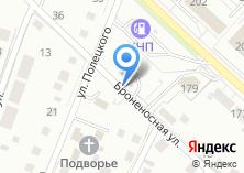 Компания «Лермонтовская» на карте