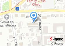 Компания «Вестпласт-Калининград плюс» на карте