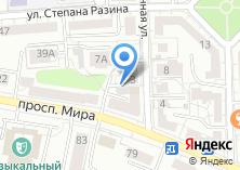 Компания «Эксперта» на карте