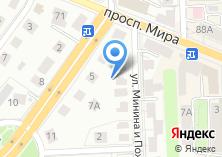 Компания «КСЦ» на карте