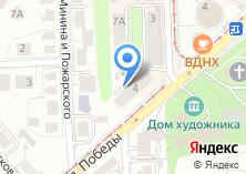 Компания «Люнель» на карте