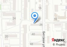 Компания «Продуктовый магазин на Беговой» на карте