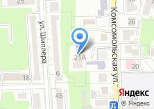 Компания «Аквалогия» на карте