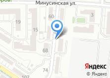 Компания «Беговая» на карте