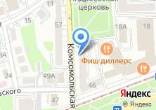 Компания «Бегемот» на карте