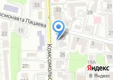 Компания «Космея Балт» на карте