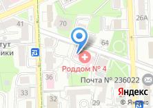 Компания «Родильный дом №4» на карте