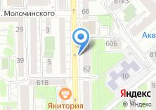 Компания «Лечебно-диагностический центр на Леонова» на карте