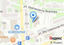 Компания «Гидротехник» на карте