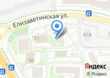 Компания «Строящийся жилой дом по ул. Елизаветинская» на карте