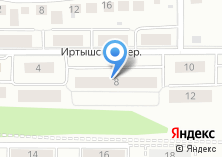 Компания «Строящийся жилой дом по ул. Иртышский пер» на карте