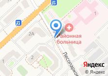 Компания «Продуктовый магазин на Лесопарковой» на карте