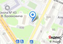 Компания «Департамент Недвижимости» на карте