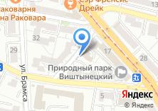 Компания «Эристика» на карте