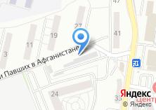 Компания «Калининградтеплосеть» на карте