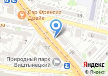 Компания «Весна39» на карте