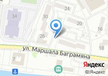 Компания «Продуктовый магазин на Набережной Маршала Баграмяна» на карте