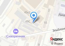 Компания «Калининградский текстиль» на карте