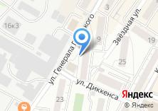 Компания «Амати» на карте