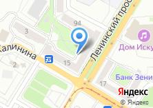 Компания «Азимут-реклама» на карте