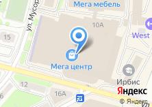 Компания «Фест Мебель» на карте