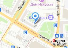 Компания «Мон Плезир» на карте