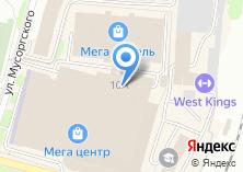 Компания «1000 УСЛУГ» на карте