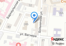 Компания «Каллайна» на карте