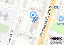 Компания «Санкт-Петербургский институт внешнеэкономических связей» на карте