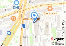 Компания «Алеста» на карте