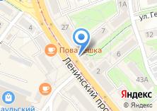 Компания «Янтарная шкатулка» на карте