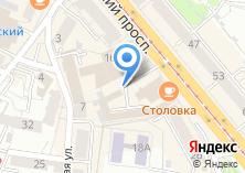 Компания «Янтарный край» на карте