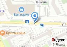 Компания «Билайн оператор мобильной связи» на карте